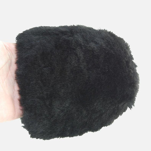 Supernatural Merino Wheel Mitt - compact four finger lambswool wheel mitt