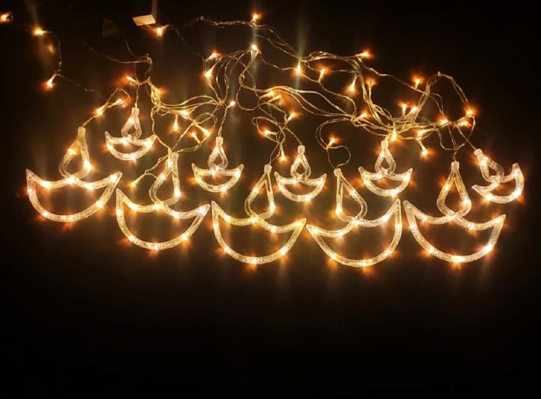 DIYA CURTAIN LIGHTS 12 STARS