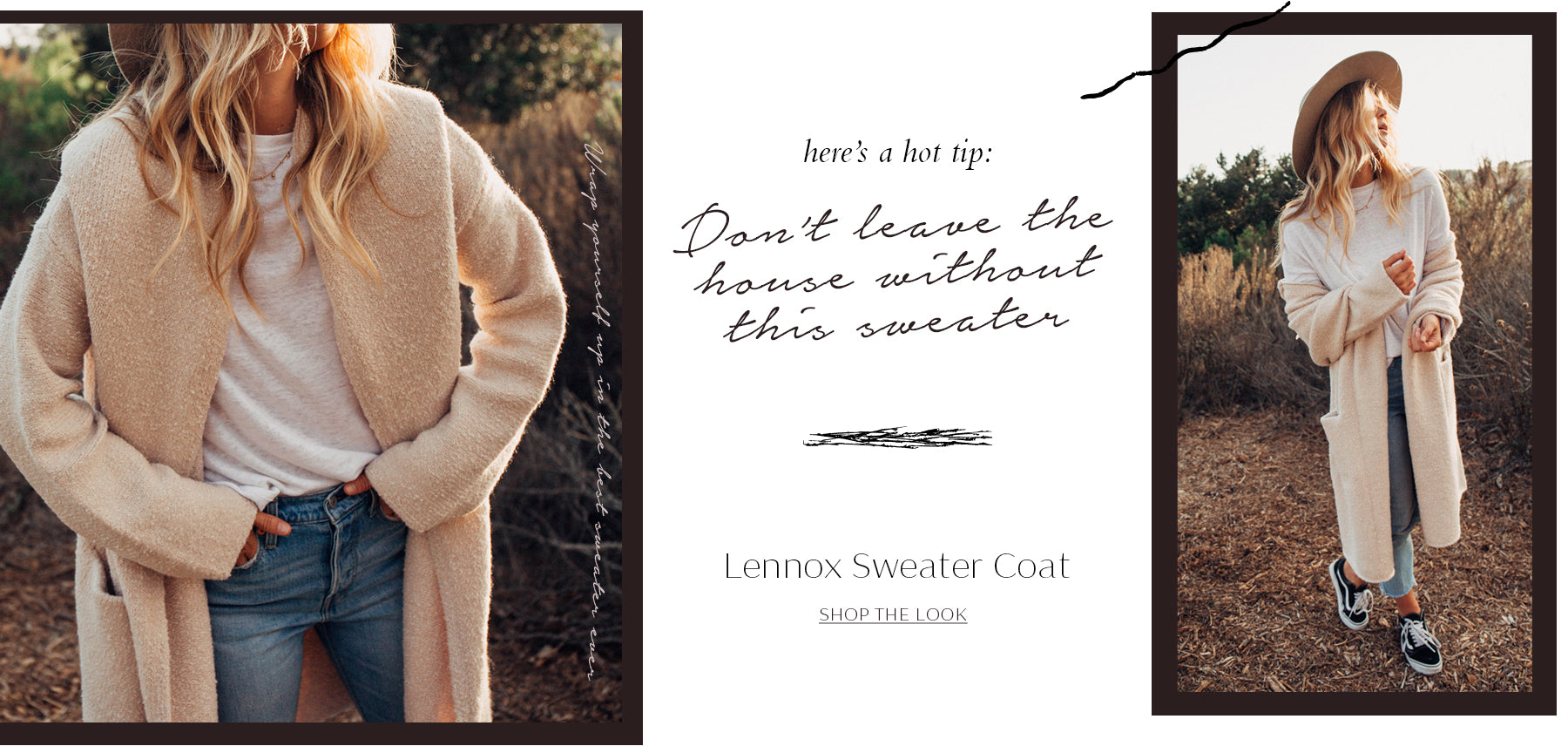 Lovestitch Sweater Coat