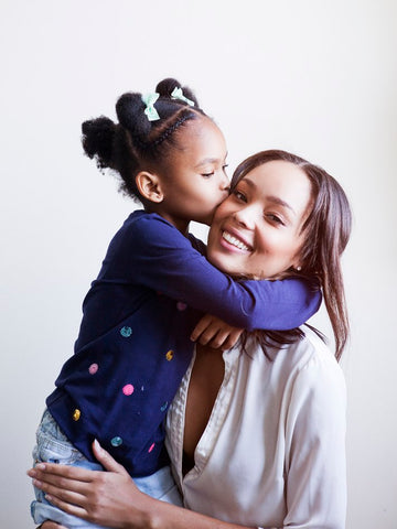 Tyrie Rudolph and her daughter - From Wilhelmina Models, Los Angeles