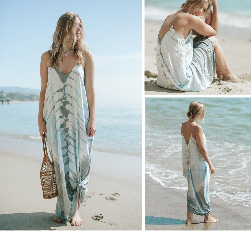 Lovestitch #1 Best Selling Mila Maxi Dress Collection | Boho Beach Dress with Pockets