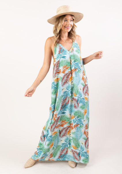 Twin Palms Maxi Dress