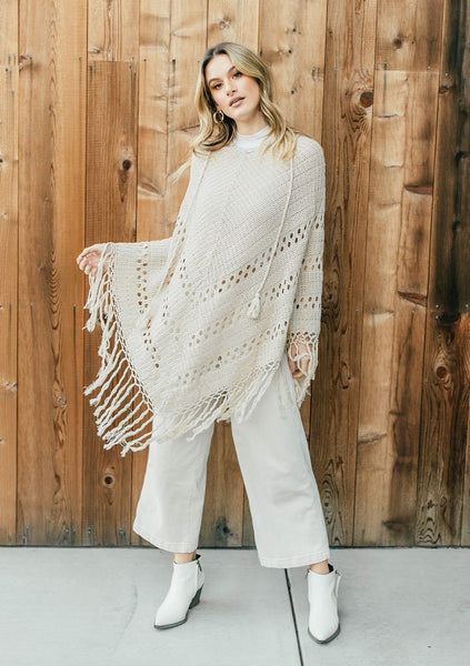 Go For A Spin Crochet Poncho