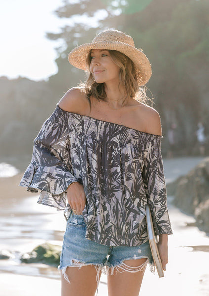 Destination Sun Off-The-Shoulder Top