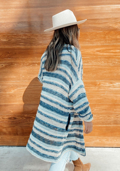 Vintage Love Striped Cardigan
