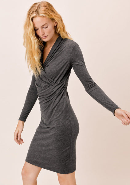 Sahara Wrap Front Dress