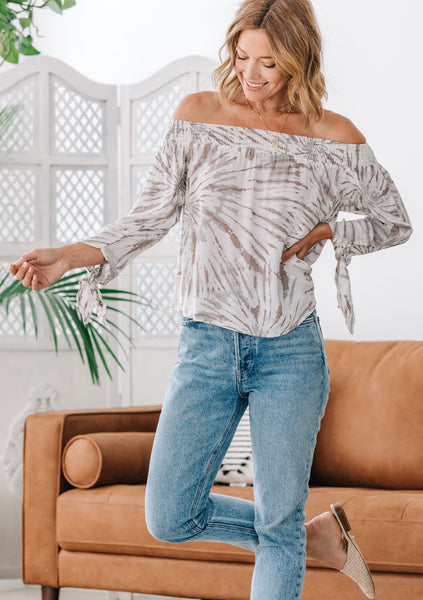 Reality Bites Off Shoulder Top