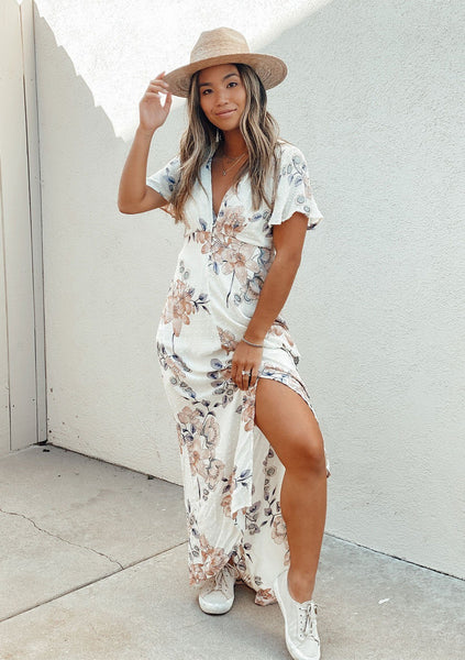 Everlasting Love Floral Maxi Dress
