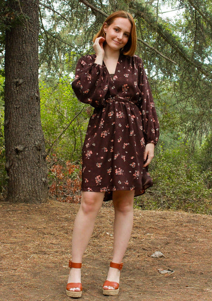 Dawn To Dusk Floral Mini Dress