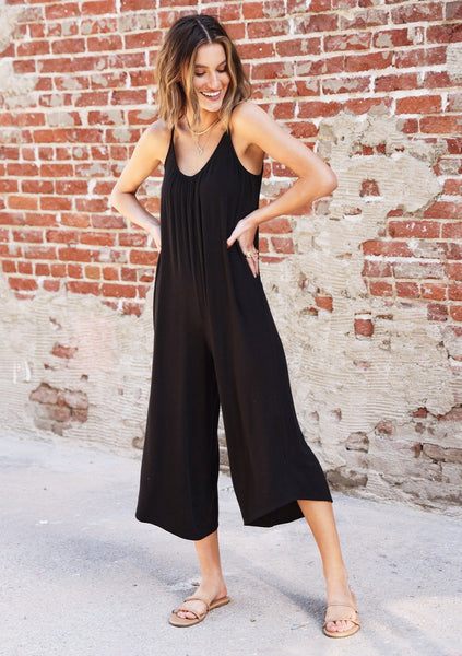 Chill Out Micro Rib Jumpsuit