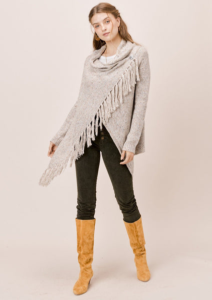 Carys Speckled Knit Sweater