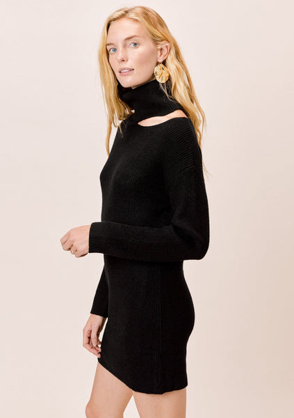 Claire Cut-Out Sweater Dress