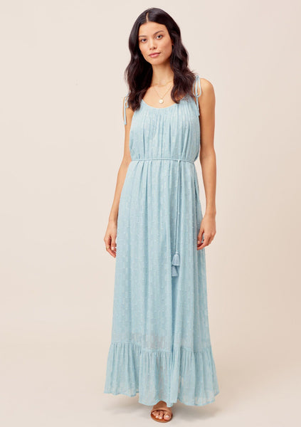 Anna Chiffon Maxi Dress
