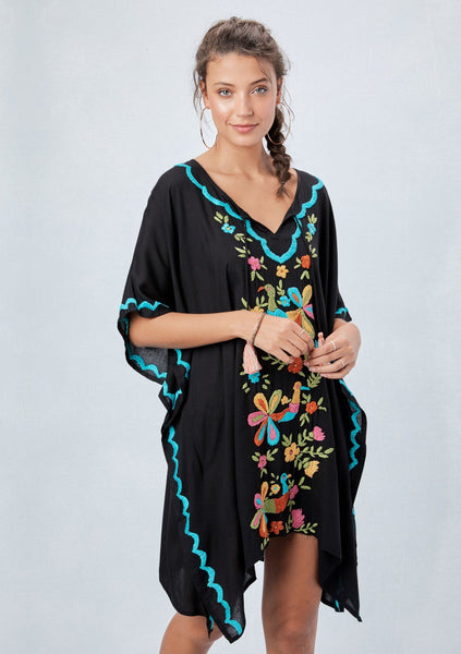 Cadiz Embroidered Caftan