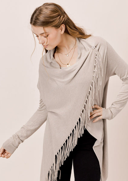 Carys Fringed Sweater