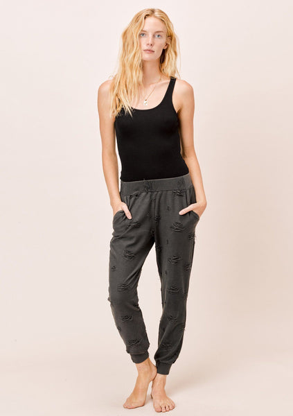 Abby Distressed Jogger