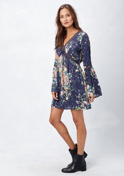Domino Floral Mini Dress