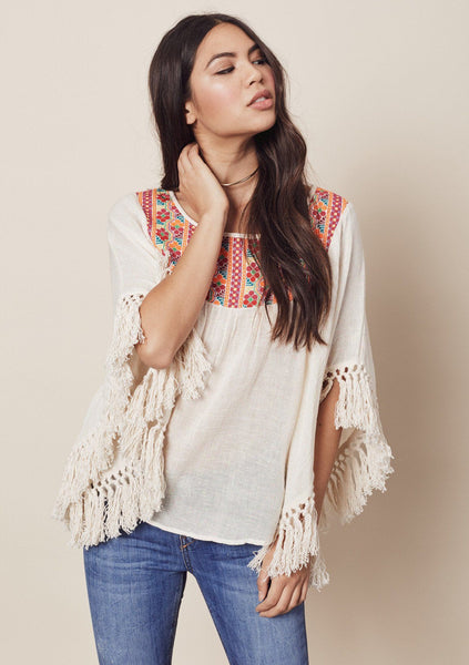 Tulum Fringe Top
