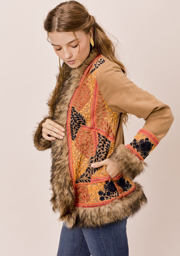 Tamar Embroidered Coat