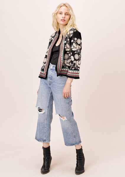 Nia Embroidered Jacket