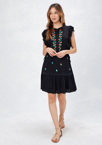 Mallorca Embroidered Dress