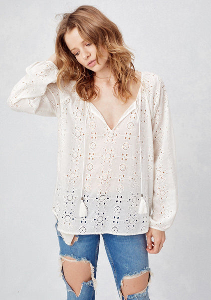 Collins Eyelet Top