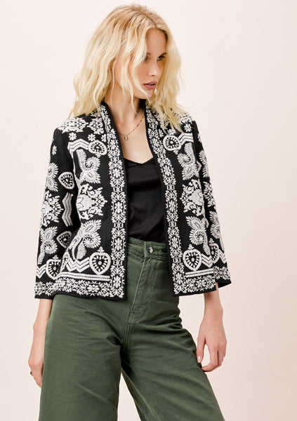 Nora Embroidered Jacket