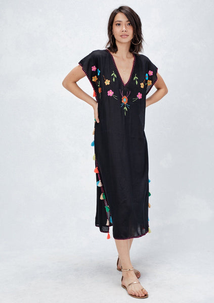 Granada Embroidered Caftan