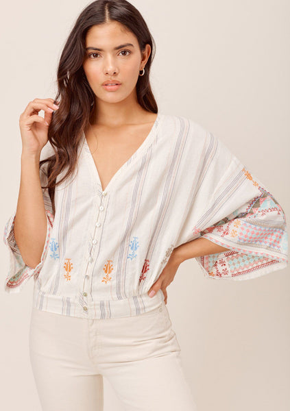 Danika Embroidered Top