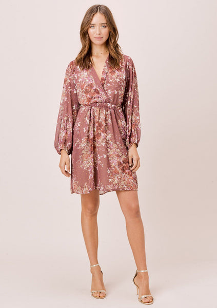 Alondra Floral Mini Dress