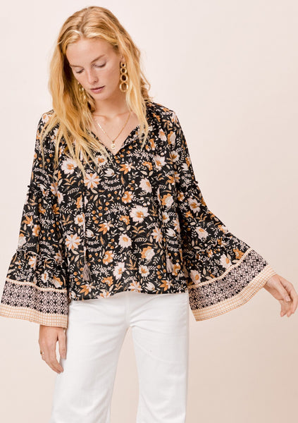 Veronique Bell Sleeve Top