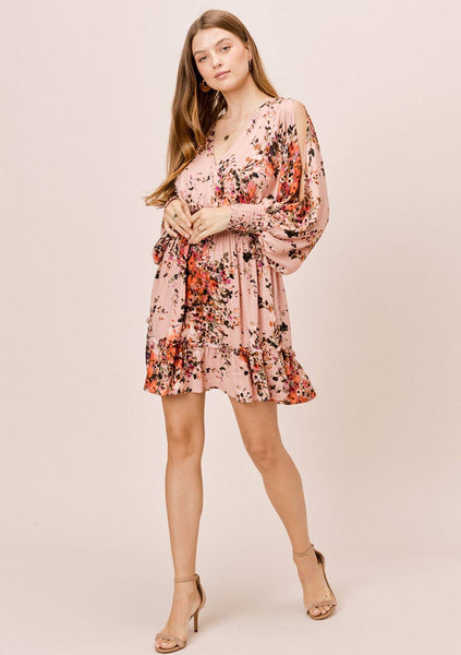 Tina Floral Mini Dress