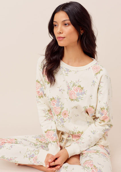 Zoe Floral Pullover