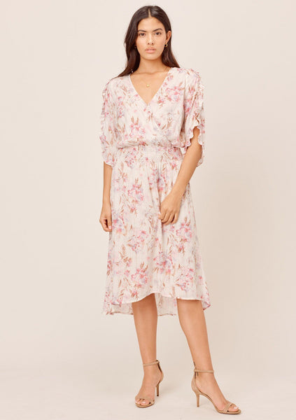 Rosemary Floral Midi Dress