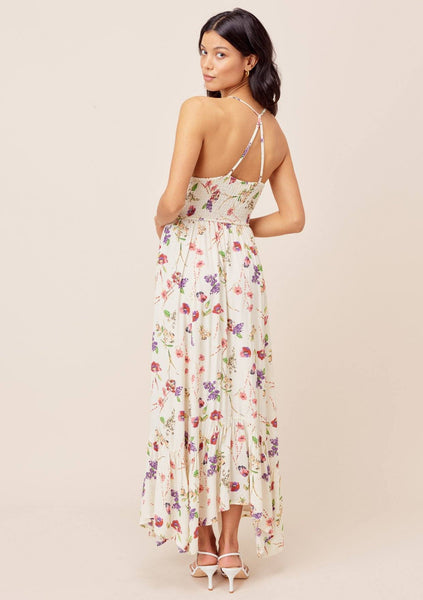 Rowena Floral Smocked Maxi Dress