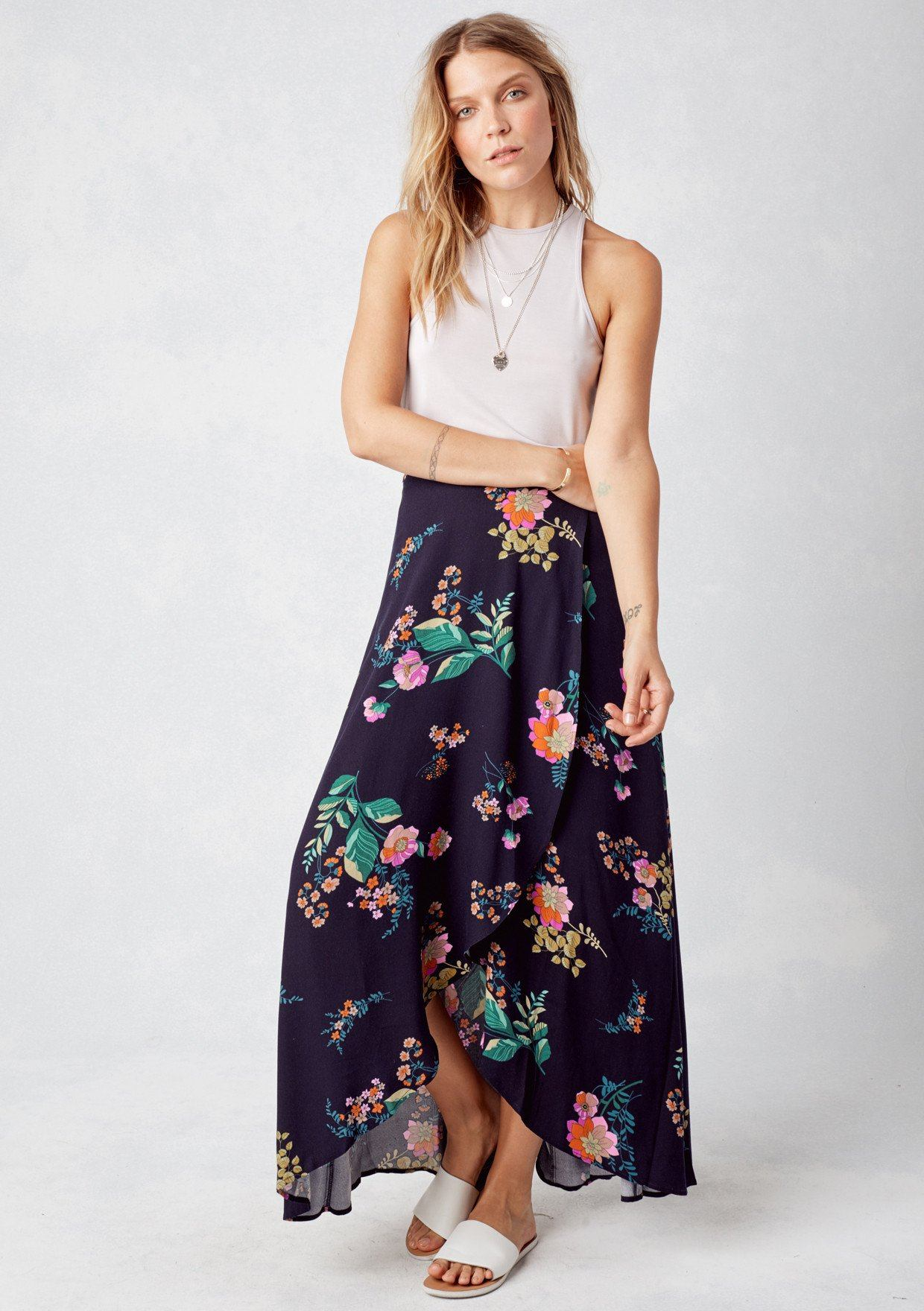 Clearance Get To Buy Outlet Release Dates Cupro Skirt - Daisy by VIDA VIDA Discount Amazing Price vnCPW