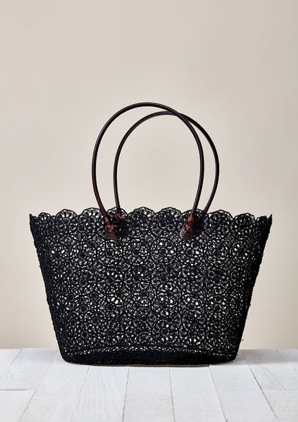 Central Park Floral Tote