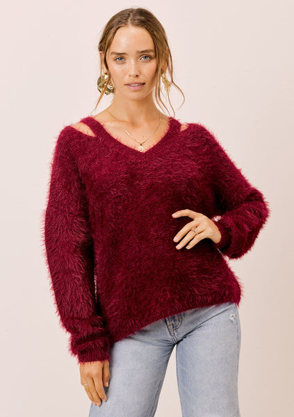 Annelise Cut-Out Sweater