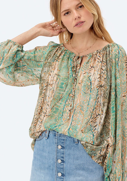 Apolline Peasant Blouse