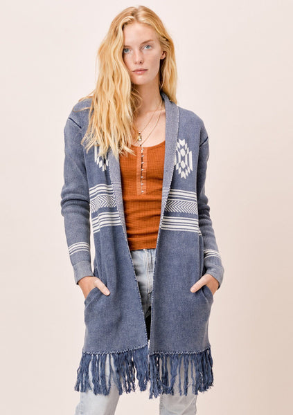 High Desert Fringe Cardigan