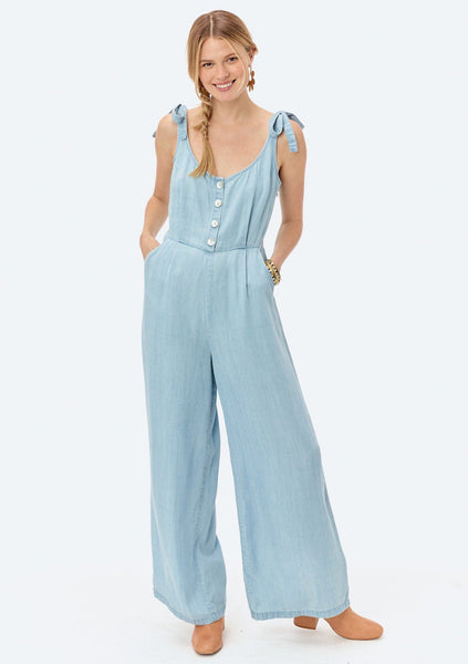 Julia Tie Shoulder Jumpsuit