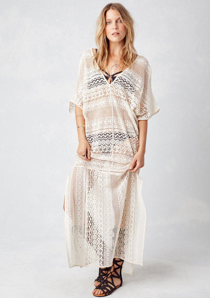 Louisa Lace Caftan