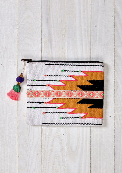 Silver City Makeup Pouch