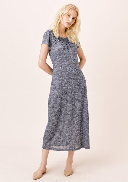 Emily Melange Knit Dress