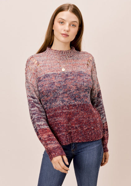 Gracie Space Dye Sweater