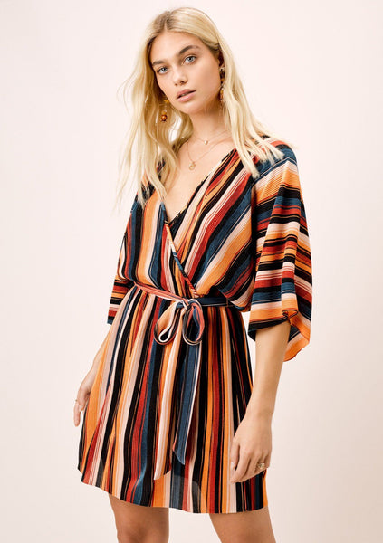 Haven Striped Mini Dress