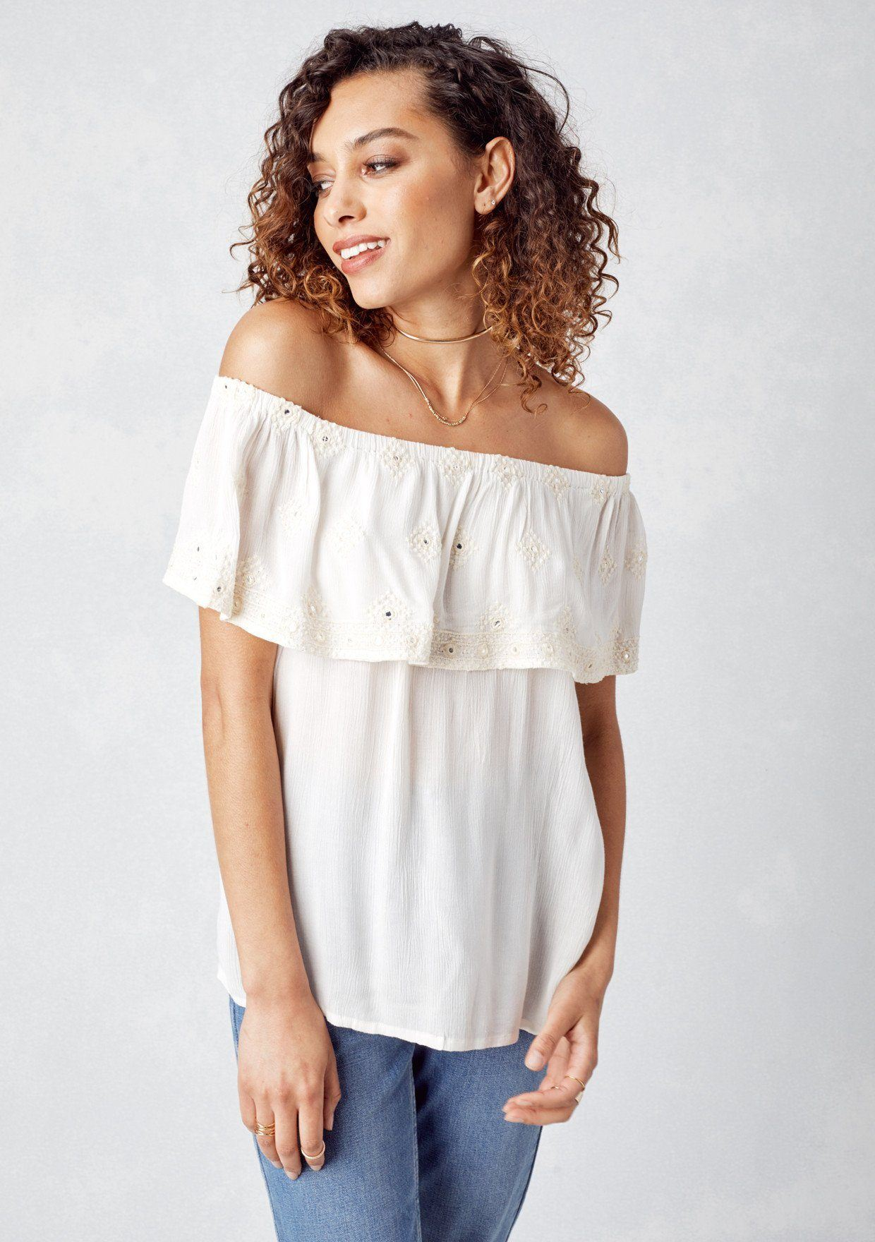 be2117a7a9 Lovestitch -Off-the-Shoulder-Eyelet-Top-with-Mirrored-Detail-1.jpg?v=1558722504