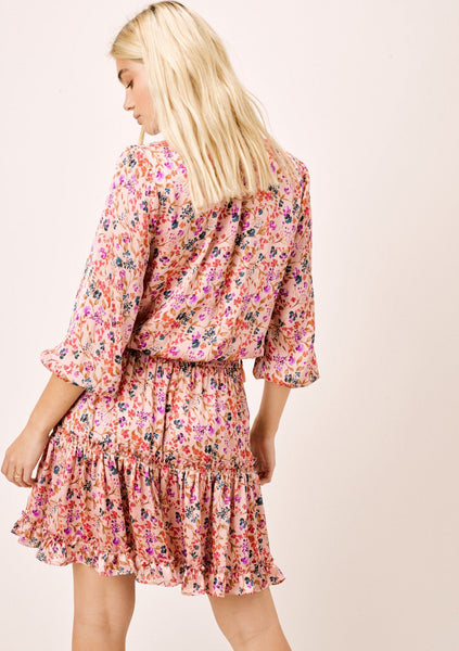 Mae Floral Ruffled Dress