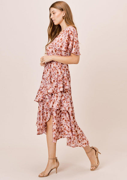 Liliana Ruffle Dress