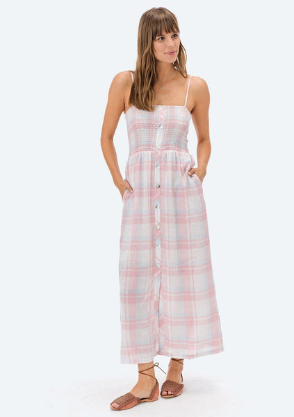 Adeline Plaid Dress